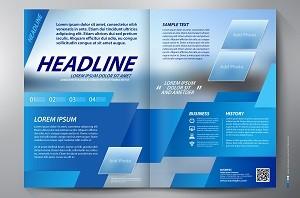 brochure copywriting online versus print